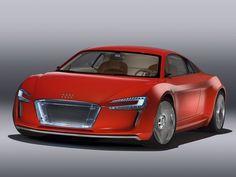Audi e-Tron Concept '2009