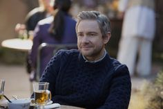 Whiskey Tango Foxtrot 18 Martin Freeman as Iain MacKelpie. God, I really love his beard. Martin, please keep the beard!