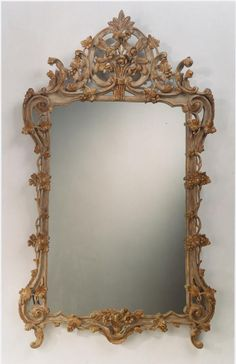 Espejo tallado