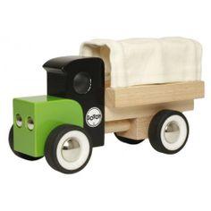 GOTOY houten vrachtwagen / GOTOY classic wooden Lorry Truck