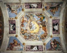 Treviso.  villa barbaro sala di olimpo. Veronese Artworks, Painting, Templates, Venetian, Pintura, Painting Art, Paintings, Painted Canvas, Drawings