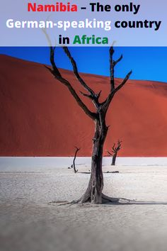 Namibia, a beautiful African country in Southern Africa is the only German-speaking country in Africa. This unique country is a perfect African destination and welcomes all visitors. This post is great for travelers who would like to travel to Namibia and do some of the interesting top things to do in Namibia.