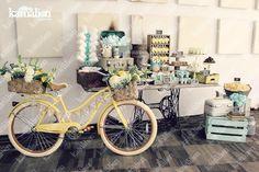 www.kamalion.com.mx - Mesa de Dulces / Candy Bar / Postres / Bautizo / Amarillo…