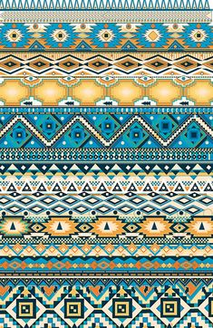 aztèques yoaz Art Print - cool for leggings? Ethnic Patterns, Textile Patterns, Print Patterns, Aztec Tribal Patterns, Pattern Library, Pattern Art, Pattern Design, Arte Tribal, Aztec Art