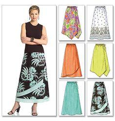Butterick 4803 Skirts Sewing pattern, Six Fast and Easy skirts, Easy Skirt pattern size Butterick Sewing Patterns, Skirt Patterns Sewing, Clothing Patterns, Skirt Sewing, Sewing Clothes, Diy Clothes, Diy Mode, Dress Making Patterns, Simplicity Patterns