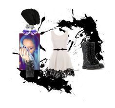 """Untitled #250"" by kittiekait on Polyvore featuring CO, Dr. Martens, BP., Casetify, Chamilia, women's clothing, women's fashion, women, female and woman"