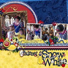 Snow White: Kellybell Designs - Fairest In The Land (kit, word art, add-on)  MJAJ Designs template