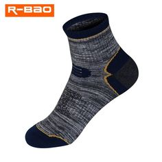 Buy R-BAO 1 Pair Summer Cotton Outdoor Climbing Fishing Camping Hiking Socks Quick-dry Ankle Protector Sports Socks For Women Men Hiking Socks, Running Socks, Jogging, Sport Socks, Courses, Sport Outfits, Dark Blue, Athletic, Quick Dry