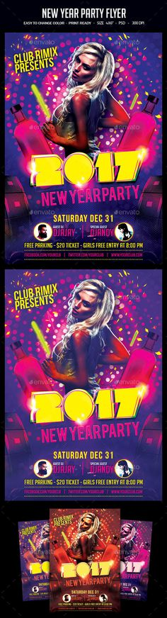 Disco S  Flyer Template Discos And Template