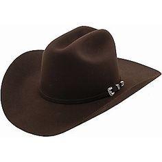 Stetson 4X Skyline Chocolate Felt Cowboy Hat  The One!