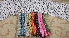 Tichelights - Polka Dot Tichelights - http://www.royalhaircovers.com/?product=tichelights-polka-dot