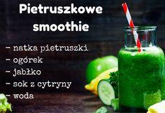 Pietruszkowe smoothie - idealny sposób na drugie śniadanie. Dostarcza organizmowi wielu witamin i składników mineralnych.  #smoothie #smoothies #pietruszka #koktajl #śniadanie #przekąska #zdrowie #abcZdrowie