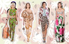 All-over print trend for Spring Summer 2017