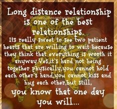 Lets Be Real Though...Only Hopeless Romantics Believe Long Distance Could Work.........,