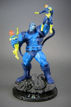 "Marvel HeroClix Giant Size X-Men #G03 Apocalypse - Giant Figure  ""Apocalypse""(アポカリプス)本名エン・サバー・ヌール。五千年前のエジプトに生まれた最も初期のミュータント。  数千年にわたり歴史の裏側を暗躍してきた。"