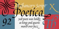 Poetica by Robert Slimbach