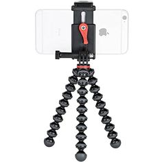 Joby GripTight Smartphone/Action Camera Flexible Tripod Stand Kit * Want to know more, click on the image. (This is an affiliate link) #goprocase Gopro Case, Bluetooth Remote, Tripod, Flexibility, Smartphone, Action, Kit, 1 Year, Charcoal