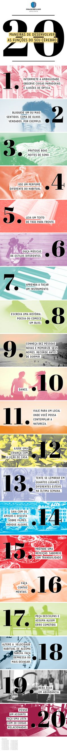desenvolvimento cérebro Success, Neuroscience, Study Tips, Best Self, Personal Development, Psychology, Infographic, Knowledge, Mindfulness