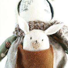 Puppa doll by artist Anika van Loon // www.puppa.bigcartel.com