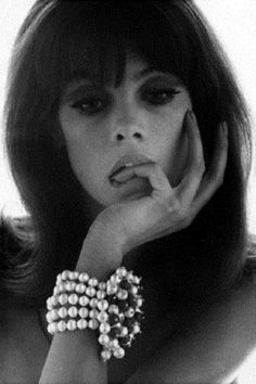 Jean Shrimpton, circa 1960 | From a unique collection of black and white photography at https://www.1stdibs.com/art/photography/black-white-photography/