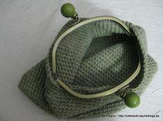 little green bag, tuto en français, crochet, fermoir métallique, prym, tuto,