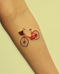 #bicycle #tattoo #bicycletattoo