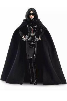 Star Wars Darth Vader X Barbie Doll Figure. Darth Vader Gift Ideas. Star Wars Gift Ideas For Barbie Doll Lovers. Birthday Xmas Gift Ideas For Women Girls. Star Wars Gift Ideas. Star Wars Lover Gifts. #StarWarsLoverGifts #DarthVaderDoll #StarWarsGiftIdeas