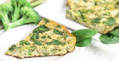 Rich in vegetables and high in protein, this quick dish is perfect when you're short on time. Healthy Blender Recipes, Vitamix Recipes, Vegetarian Recipes, Vegetable Frittata, Frittata Recipes, Salmon Burgers, Vegetables, Clean Eating, Breakfast