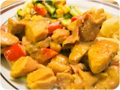 Chicken Broccoli, Penne, Lchf, Feta, Sweet Potato, Potatoes, God Mat, Vegetables, Ethnic Recipes