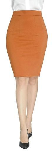 1aa526ab166 Women s Work Skirt Office Knee Length Pencil Regular Fit Skirt