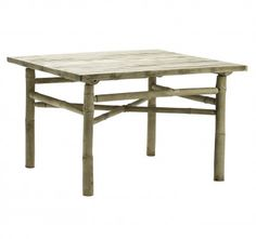 BAMBOO COFFEE TABLE, Scandinavian furniture  - $299.00 www.whereonelives.com.au