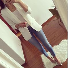 Basic Fashion Tips .Basic Fashion Tips Casual Work Outfits, Blazer Outfits, Business Casual Outfits, Mode Outfits, Office Outfits, Work Attire, Classy Outfits, Chic Outfits, Work Fashion