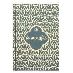 Metallic Message Journal - Be Mindful - Matr Boomie (J)