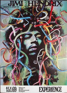Jimi Hendrix (I have this same exact poster! I've had it since middle school!)