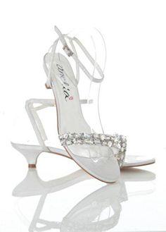 Rose - strappy low heel shoe