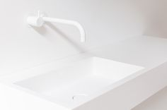 Base basin by Not Only White White Kitchen Faucet, Luxury Spa Hotels, Bathroom Styling, Bathroom Inspiration, Basin, Contemporary, House Styles, Ideas, Home Decor