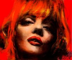 Corno depicts celebrities in abstract portraits for your enjoyment.One of those may be a nice addition to your collection for the embellishment of your interior. Pop Art, Fire Hair, Chaos 2, Abstract Portrait, Korn, Mixed Media Canvas, Texture Art, Marilyn Monroe, Les Oeuvres