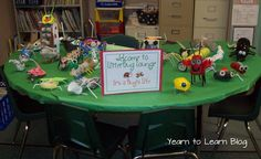 Litter Bugs Recycling Project -Displayed in Litterbug Lounge