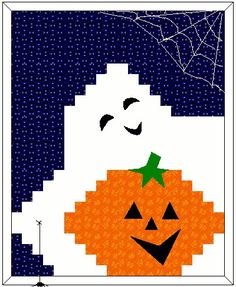 Boo!-ti-ful Halloween Wall Hanging Free Quilt Pattern