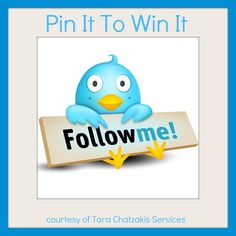 Repin and like for your chance to win.  Let me increase your Twitter followers for one week.  I'll work daily on finding you targeted Twitter followers to 'explode' your business.  Competition ends 6th June 2012  www.tarachatzakis.com