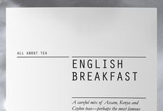 Discover more of the best Editorial, Fonts, Tea, Packaging, and Typography inspiration on Designspiration Typography Images, Typography Inspiration, Typography Logo, Graphic Design Typography, Design Inspiration, Lettering, Print Layout, Layout Design, Web Design