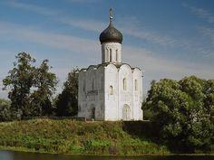Церковь Покрова на Нерли. XII век, 1165, Владимирская область, около с. Боголюбово. dmg_sp_03