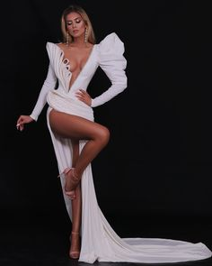 White And Silver Dress, White Dress, Glamorous Dresses, Short Dresses, Formal Dresses, Mermaid Gown, Black Midi Dress, Dream Dress, Sequin Dress