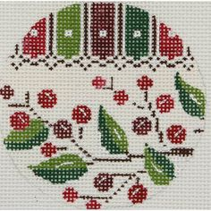 Alice Peterson Co. - Holly Christmas Ornaments