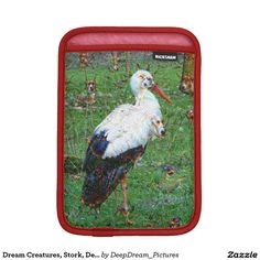 Dream Creatures, Stork, DeepDream