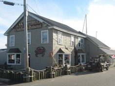 Waterman's Crab House Restaurant in Rock Hall, MD is located right on the Chesapeake Bay and features delicious fresh seafood favorites such as blue crabs, rockfish, oysters and other Chesapeake fare. If you love good seafood, especially blue crabs, you will see why Waterman's is one of our favorite places!  http://www.watermanscrabhouse.com/home/