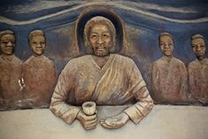 A Massive Sculpture of an African American Last Supper, Hidden for Years, Has Been Discovered in Columbia Heights African American Artist, African American History, American Artists, African Art, African Jesus, Columbia Heights, Black Jesus, Tribe Of Judah, Art Articles