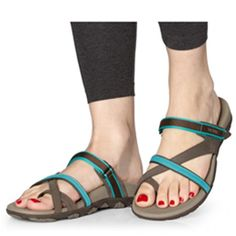83c94a210682a Our women's Mojave performance sandal offers ideal motion control for  after-sport recovery, while