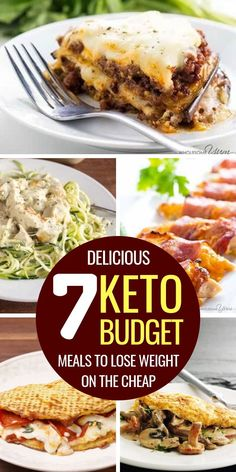 These cheap keto meals are simple and perfect for dinner. If youre doing keto on a budget these easy keto meals for families (and for two) will simplify your life. Keto on a budget recipes for lunch breakfast and dinner. Keto On A Budget, Cooking On A Budget, Budget Meals, Budget Recipes, Cheap Recipes, Dinner Recipes For Two On A Budget, Cheap Meals For Two, Low Carb Cheap Meals, Healthy Cheap Meals