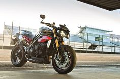 The Speed Triple models are developed around a new 1050cc three-cylinder engine; the bikes get five ride modes including a customiseable mode.